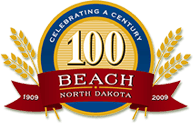 Beach, North Dakota logo